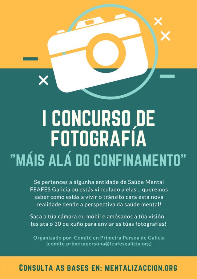 Concurso fotográfico Máis Alá do Confinamento